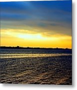 St Andrews Bay Sunset Metal Print