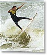 St Augustine Surfer Two Metal Print