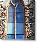 St. Augustine Window Metal Print