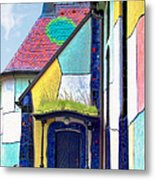 St Barbara Church - Baernbach Austria Metal Print by Christine Till