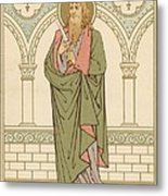 St Bartholomew Metal Print by English School