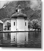 St. Batholomae At The Lake Metal Print