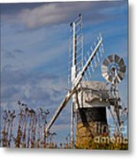 St Benets Drainage Mill Norfolk Metal Print