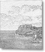 St Catherines Rock Tenby 2 Metal Print