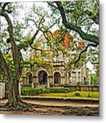 St. Charles Ave. Mansion Metal Print