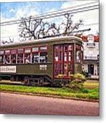 St. Charles Ave. Streetcar 2 Metal Print