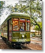 St. Charles Streetcar 2  Metal Print