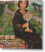 St. Clare Of Assisi Metal Print