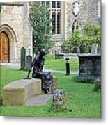 St Edmund Of Abingdon Metal Print