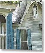 St Francisville Inn Windows Louisiana Metal Print