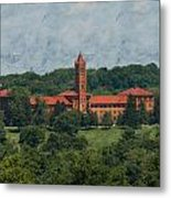 St. Gabriel's From Valley Forge Metal Print