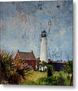 St. George Island Historic Lighthouse Metal Print