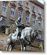 St. George Sculpture Metal Print