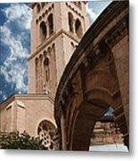 St. George's Cathedral Jerusalem Metal Print