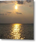 St George's Island Sunset Metal Print