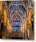 St. Giles Entrance Metal Print