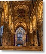 St. Giles Interior Metal Print