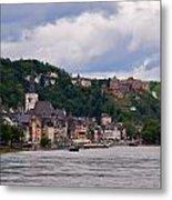 St Goar Am Rhein Metal Print