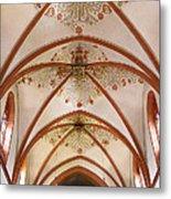 St Goar Organ And Ceiling Metal Print