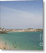 St Ives From The Train Metal Print