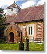 St James Ashmansworth Metal Print