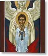 St. Joan Of Arc With St. Michael The Archangel 042 Metal Print