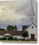 St John Lutheran Church Of Prairie Hill Metal Print