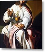 St John The Evangelist Metal Print