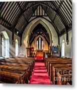 St Johns Church Metal Print by Adrian Evans