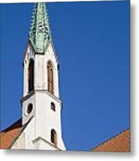 St. John's Church Riga Metal Print