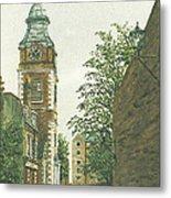 St Johns Church Wapping From Scandrett Street Metal Print