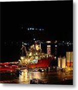 St Johns Port Metal Print
