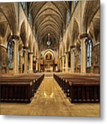 St Joseph Cathedral IIi Metal Print by Dick Wood