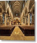 St Joseph Cathedral IIi Metal Print
