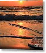 St. Joseph Sunset Swirls Metal Print