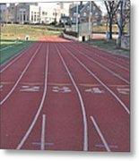 St Josephs University Track Metal Print