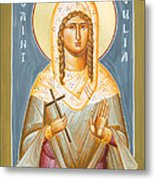 St Julia Of Carthage Metal Print