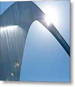 St. Louis Arch IIi Metal Print