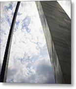 St Louis Arch  Metal Print
