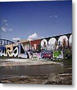 St Louis Graffiti Metal Print