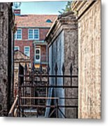 St Louis One And Iberville Metal Print