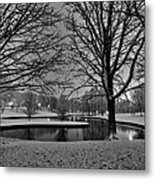 St. Louis - Winter At The Arch 001 Metal Print