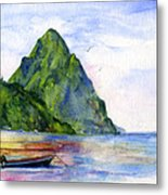 St. Lucia Metal Print