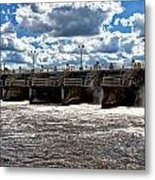 St Lucie Lock And Dam 2 Metal Print by Dan Dennison
