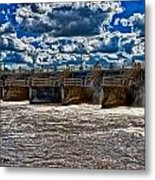 St Lucie Lock And Dam 3 Metal Print
