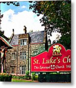 St Lukes Church Metal Print