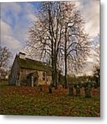 St Margaret Of Antiochs Church Linstead Metal Print by Darren Burroughs