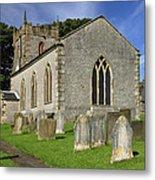 St Margaret's Church - Wetton Metal Print