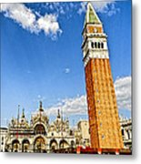 St Marks Square - Venice Italy Metal Print