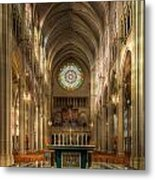 St. Mary Cathedral Basilica Of The Assumption Metal Print